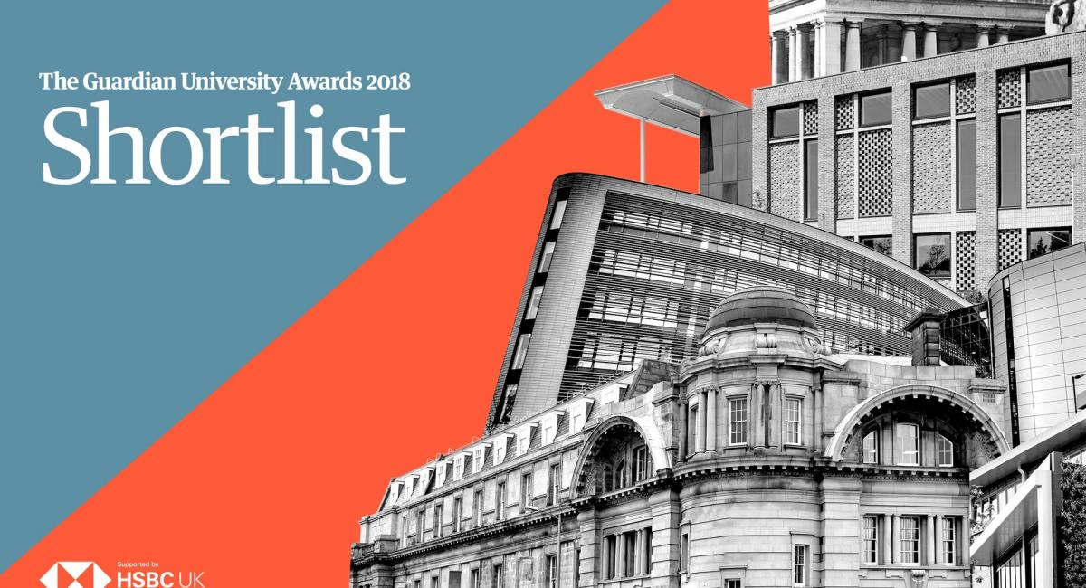 RAU makes shortlist for Guardian University awards 2018
