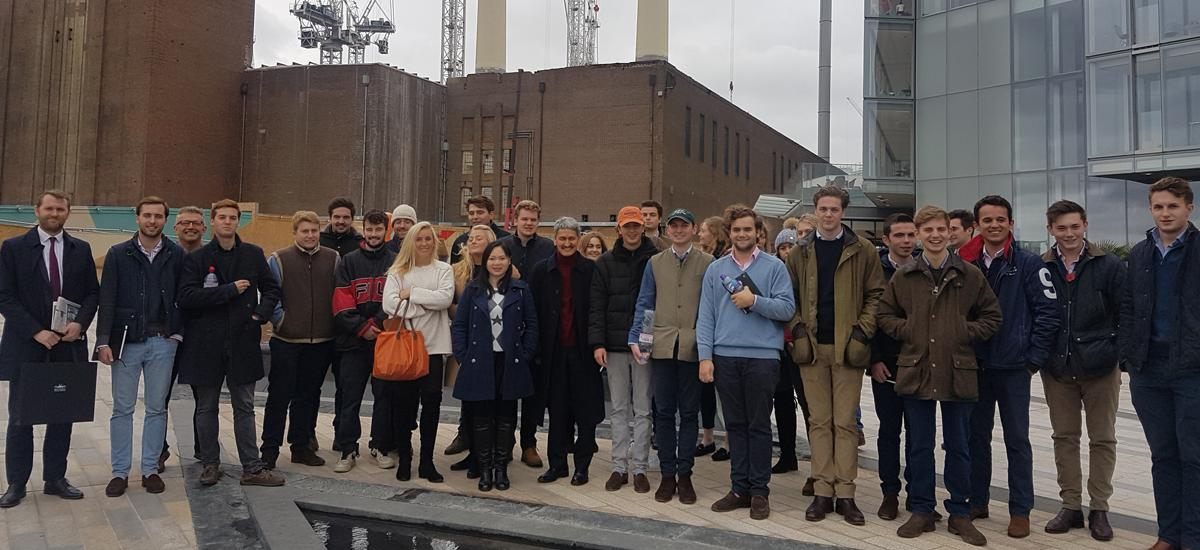 RAU students explore Mega Urban Regeneration Projects in London
