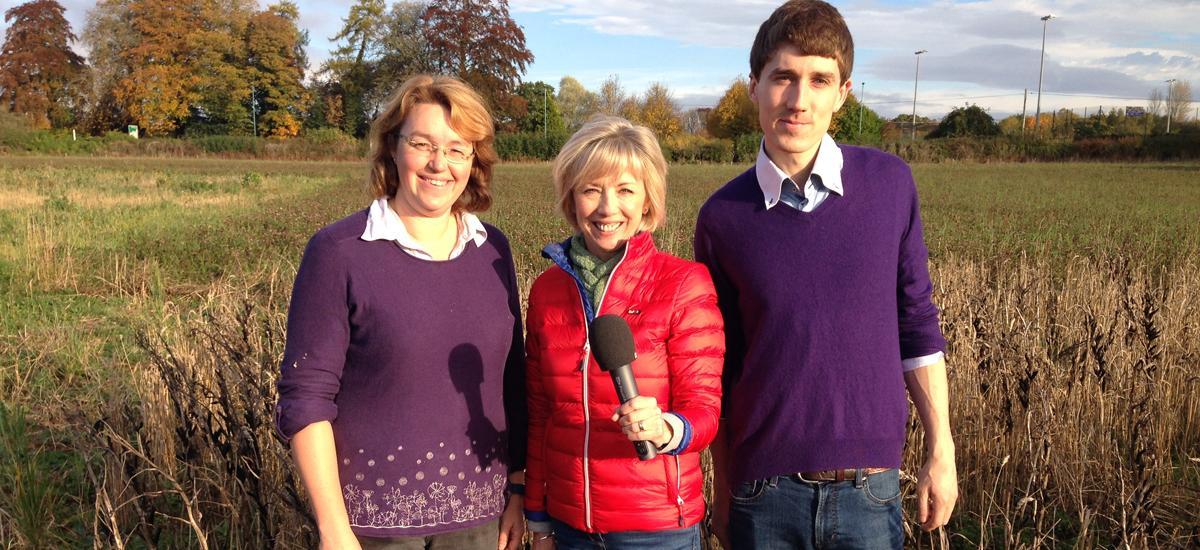 BBC Farming Today shine the spotlight on crop science