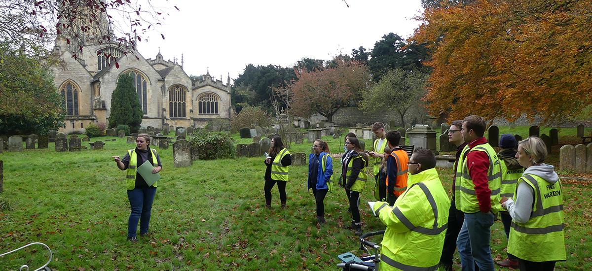 RAU students help restore St John's Cemetery
