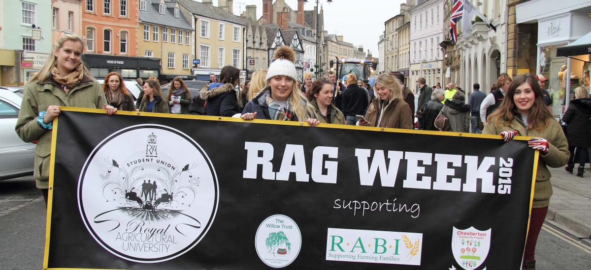 RAU students gear up for RAG Week