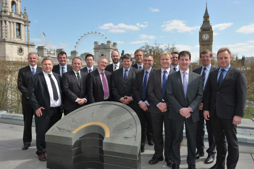 IAGRM Leadership Development Programme 2016 – on the roof of the  Royal Institute of Chartered Surveyors Building