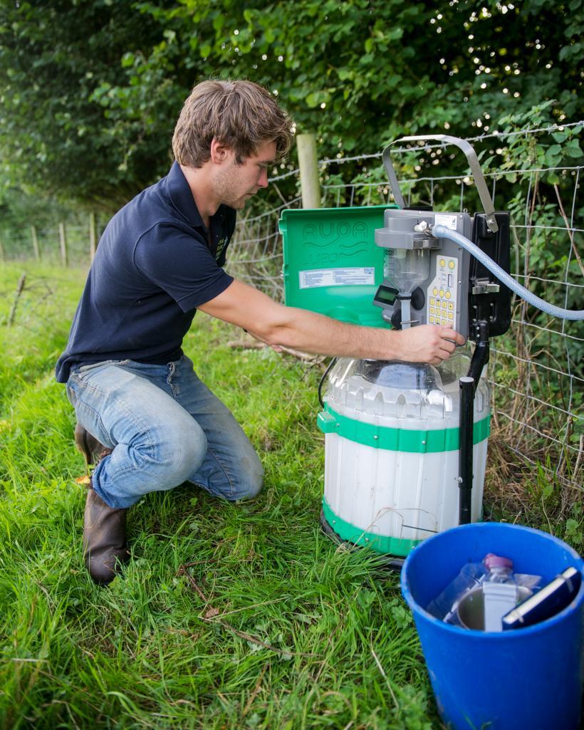 rau and thames water field work initiative underway royal rau and thames water field work initiative underway
