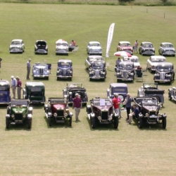 Plenty of space for car rallies