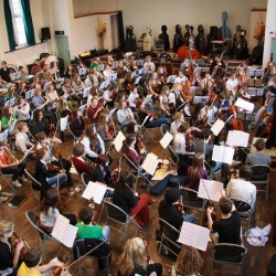 Youth Orchestra in Boutflour Hall
