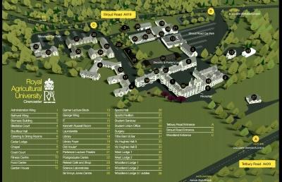 Campus Map 2018