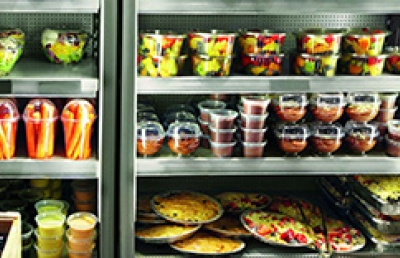 Food in a chiller