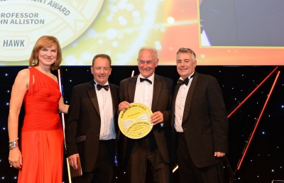 Lifetime achievement awarded to Professor John Alliston