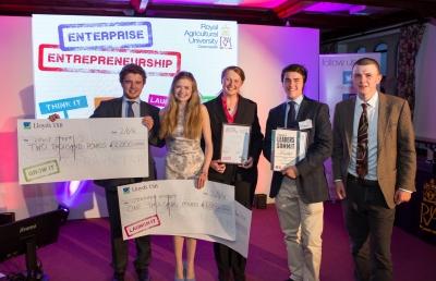 RAU Enterprise Awards winners 2016