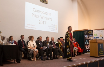 Convocation Prize Winners