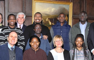 The RAU recently hosted lunch for supporters of the Africa Fellowship Trust.