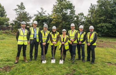 Work begins on new business Growth Hub at the RAU