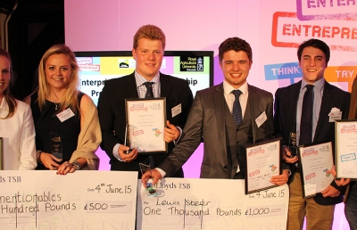 Student entrepreneurs take part in the Grand Idea business competition 2015
