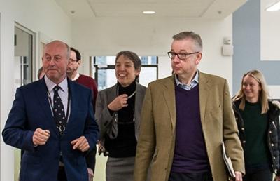 Michael Gove visits