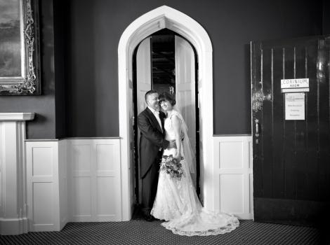 Mike & Lucy Cameron-Davies. Credit Sarah Wenban Photography