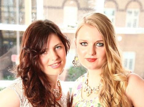 Rebecca Oborne and Susanna Crone